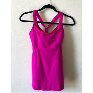 Lily lemon fitted tank